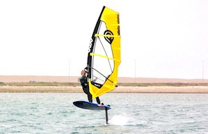 Awesome 'Flying' Windsurfing comes to Rutland