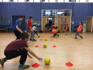 Dodgeball Holiday Camp