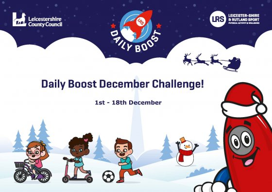 Get Ready for the Daily Boost December Challenge Launch